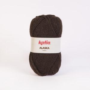 ALASKA N°06 de KATIA pelote de 100 g coloris Marron Foncé