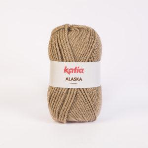 ALASKA N°07 de KATIA pelote de 100 g coloris Beige Foncé
