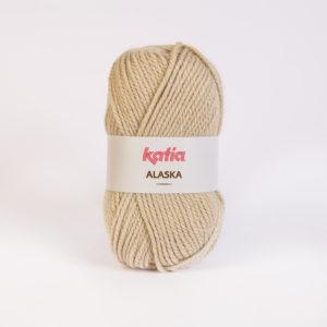 ALASKA N°08 de KATIA pelote de 100 g coloris Beige