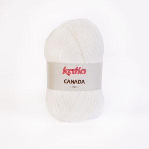 CANADA N°01 de KATIA pelote de 100 g coloris Blanc
