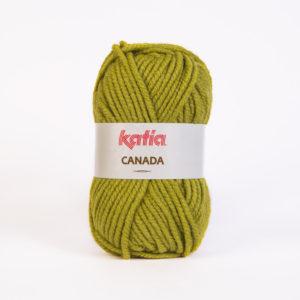 CANADA N°15 de KATIA pelote de 100 g coloris Vert Anis