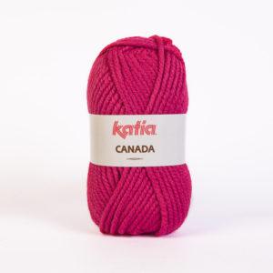 CANADA N°17 de KATIA pelote de 100 g coloris Fuchsia