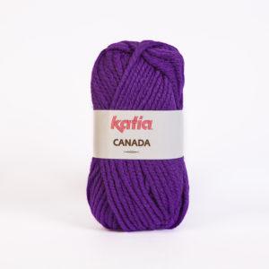 CANADA N°24 de KATIA pelote de 100 g coloris Violet Clair