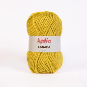CANADA N°33 de KATIA pelote de 100 g coloris Moutarde