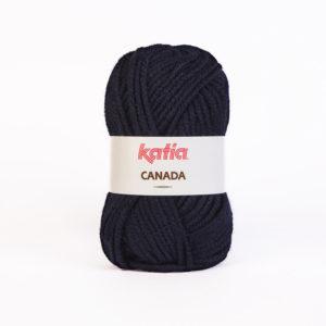 CANADA N°05 de KATIA pelote de 100 g coloris Bleu Marine
