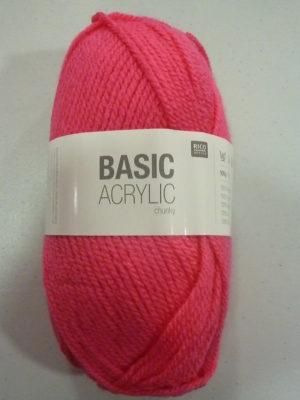 BASIC ACRYLIC chunky N° 03 de RICO DESIGN coloris fuchsia