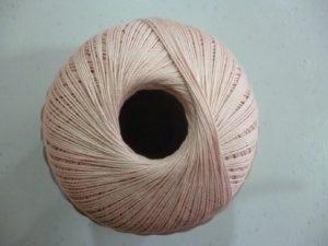 Coton Essentials Crochet N° 14 de RICO DESIGN coloris poudre