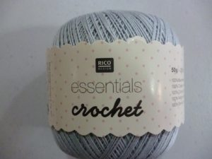 Coton Essentials Crochet N° 17 de RICO DESIGN coloris smokey blue