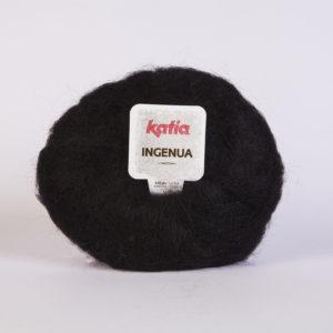 INGENUA N°02 de KATIA pelote de 50 g coloris Noir