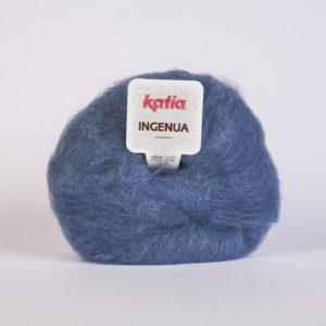 INGENUA N°38 de KATIA pelote de 50 g coloris Bleu Jeans
