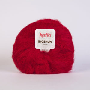 INGENUA N°04 de KATIA pelote de 50 g coloris Rouge