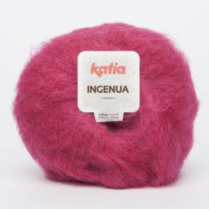 INGENUA N°45 de KATIA pelote de 50 g coloris Fuchsia