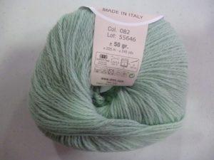 100% Baby N°82 de D.M.C coloris vert tendre