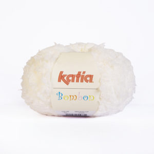 BOMBON N°200 de KATIA pelote de 50 g coloris Blanc