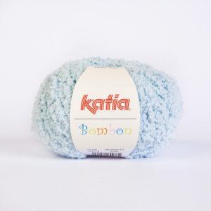 BOMBON N°203 de KATIA pelote de 50 g coloris Bleu Ciel