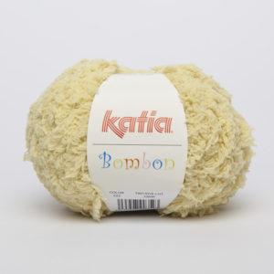 BOMBON N°223 de KATIA pelote de 50 g coloris Jaune
