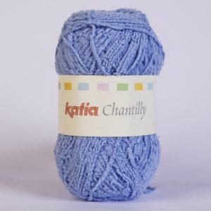 CHANTILLY N°54 de KATIA pelote de 50 g coloris Bleu
