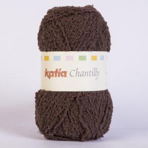 CHANTILLY N°57 de KATIA pelote de 50 g coloris Chocolat