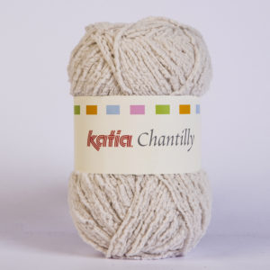 CHANTILLY N°59 de KATIA pelote de 50 g coloris Ivoire