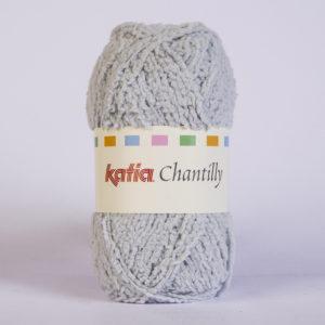 CHANTILLY N°60 de KATIA pelote de 50 g coloris Gris Clair