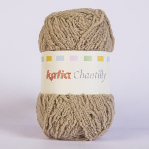 CHANTILLY N°65 de KATIA pelote de 50 g coloris Beige