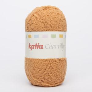 CHANTILLY N°72 de KATIA pelote de 50 g coloris Safran