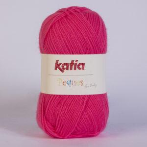 PEQUES N°84923 de KATIA pelote 50 g coloris Fuchsia