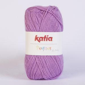 PEQUES N°84920 de KATIA pelote 50 g coloris Lilas