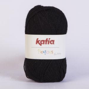PEQUES N°84931 de KATIA pelote 50 g coloris Noir