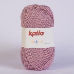 PEQUES N°84941 de KATIA pelote 50 g coloris Vieux Rose