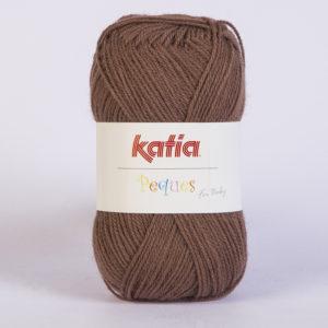 PEQUES N°84943 de KATIA pelote 50 g coloris Chocolat