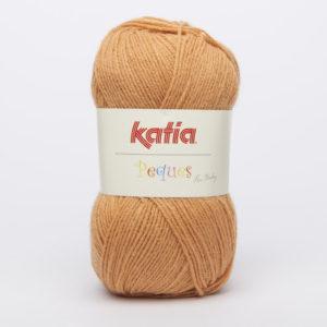 PEQUES N°84946 de KATIA pelote 50 g coloris Safran