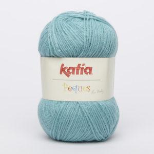 PEQUES N°84948 de KATIA pelote 50 g coloris Bleu