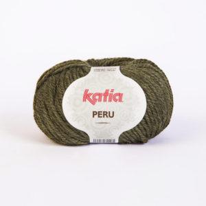 PERU N°14 de KATIA pelote de 100 g coloris Kaki