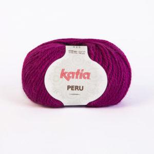 PERU N°23 de KATIA pelote de 100 g coloris Framboise