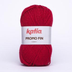 PROMO-FIN N°579 de KATIA pelote 50 g coloris Rouge