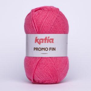 PROMO-FIN N°595 de KATIA pelote 50 g coloris Fuchsia