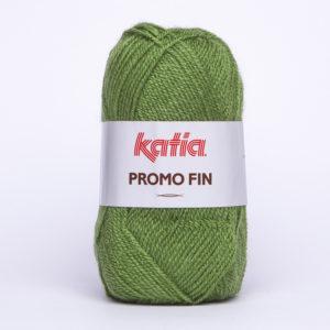 PROMO-FIN N°598 de KATIA pelote 50 g coloris Vert