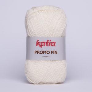 PROMO-FIN N°603 de KATIA pelote 50 g coloris Écru