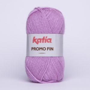 PROMO-FIN N°608 de KATIA pelote 50 g coloris Lilas