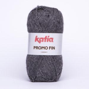 PROMO-FIN N°812 de KATIA pelote de 50 g coloris Gris