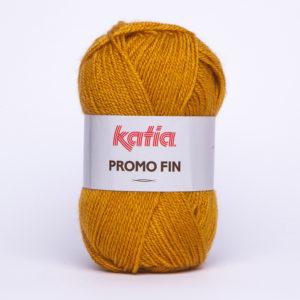 PROMO-FIN N°839 de KATIA pelote de 50 g coloris Safran