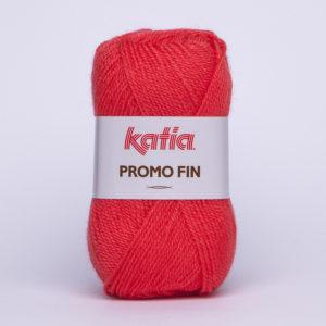 PROMO-FIN N°841 de KATIA pelote de 50 g coloris Corail
