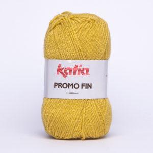 PROMO-FIN N°847 de KATIA pelote de 50 g coloris Moutarde
