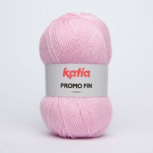 PROMO-FIN N°849 de KATIA pelote 50 g coloris Rose Poudré
