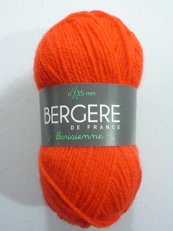 Barisienne coloris 24645 orange - Bergere de france soldes ...