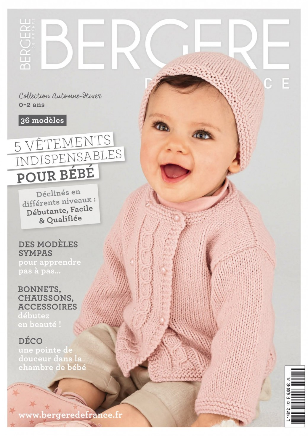 Catalogue Bergère de France N°182 « Layette » 0e527544f68