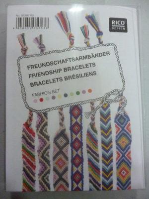 Kit pour Bracelets Brésiliens de Rico Design N°155