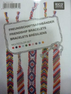 Kit pour Bracelets Brésiliens de Rico Design N°160