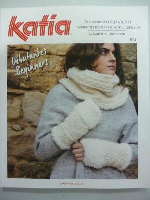Catalogue Katia Débutant N°4 Automne-Hiver 57 modèles